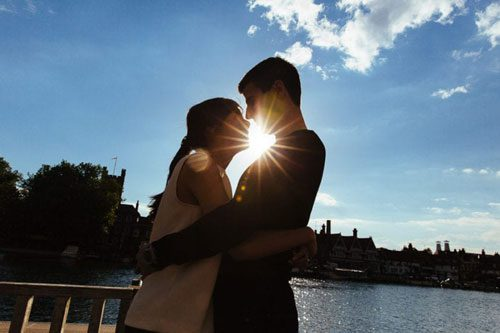 engagement shoot in Henley-upon-thames